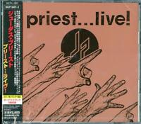 JUDAS PRIEST-PRIEST...LIVE!-JAPAN 2 CD BONUS TRACK F50