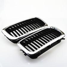 Chrome Frame Front Kidney Grills For BMW E38 740/750 7 series 95-01 Sedan 4-Door