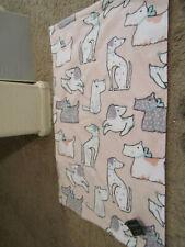 Cynthia Rowley Dog Bath Towel Set of 2 Hand Towels White & pink  NEW