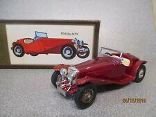 Matchbox Yesteryear Y3 1934 RILEY MPH  Metallic Red Coachwork..Woodgrain Box