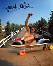 TONY ALVA SIGNED AUTOGRAPHED 8x10 PHOTO SKATEBOARDING Z-BOYS LEGEND BECKETT BAS