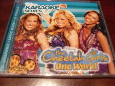 DISNEY KARAOKE DISC 204702 THE CHEETAH GIRLS ONE WORLD CD+G MULTIPLEX