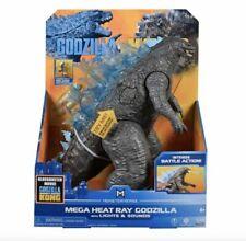 """Godzilla VS Kong 13"""" Mega Godzilla Figure with Lights & Sounds SHIPS FAST 🚚💨"""