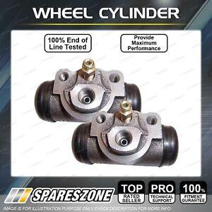 2 Rear Wheel Cylinders LH + RH for Toyota Corolla KE20 KE26 KE30 KE35 KE36 KE55