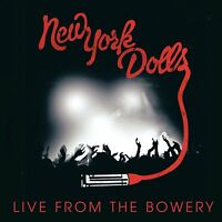 New York Dolls - Live from the Bowery 2011 (2012)  CD+DVD  NEW  SPEEDYPOST