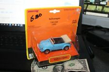 1998 New Ray-Blue 1951 VW 1200 Convertible Beetle-1:43 Scale- '51 VW Bug Ragtop