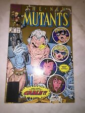 The New Mutants no 7 sept 1983 - marvel comics no 87 march 1990 -  #A477-#B2290
