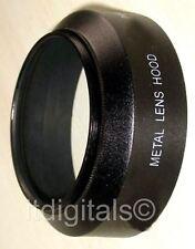 52mm Metal Lens Hood For 52mm Lenses black
