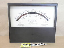 D.C. Panel Meter Milliampere Western Electric Triplett Made In USA