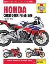 Honda Cbr1000rr Fireblade 08 to 13, Paperback by Haynes Manuals (COR), Like N...