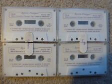 RAMTHA DIALOGUES JZ KNIGHT 4 CASSETTE TAPES 1987 RARE BRAND NEW MAN'S ASCENSION