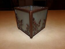 Partylite Copper Lace Square Candle Holder