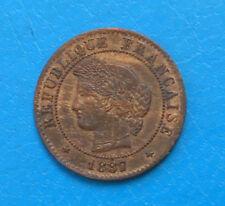 1 centime Cérès 1887 A PARIS cote TTB 15 SUP 25 - ENVOI OFFERT EN LETTRE