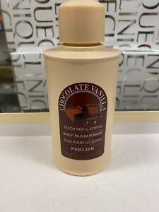Chocolate Vanilla Body Talcum Powder by Perlier (3.5 oz)