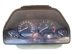 OEM Genuine BMW E34 Series 5 Dashboard Instrument Cluster Speedomeeter