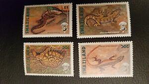 Swaziland - 1992 - Sc 596 - 99 - Reptiles VF MNH cv=US$12.25