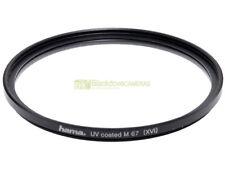 67mm. filtro UV Coated Hama. Ultra Violet filter.