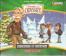 NEW Adventures in Odyssey COUNTDOWN TO CHRISTMAS Advent Collection 8 CDs 9 Hours