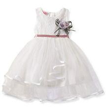 Flower Toddler Kid Baby Girl Sleeveless Dress Princess Pageant Lace Tutu Dresses
