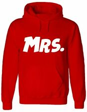 MR AND MRS, Husband, Matching Hubby, married, Couple, Jumper, Hoody, HOODIE
