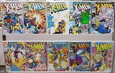 The Uncanny X-Men #300, 301, 303, 304, 306, 307, 311, 313, 314, 316 - CGC READY
