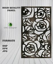 Dxf Cdr Of Plasma Laser And Router Cut Cnc Vector Panel Art 108