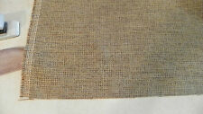 Brown Beige Check Print Upholstery Fabric 1 Yard  F1193