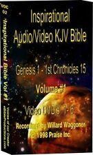 17 DVD Inspirational Video Bible KJV 32000 Photos Audio