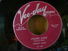 ORIG MINT/M- BLUES 45~JIMMY REED~FOUND LOVE/WHERE CAN YOU BE~~HEAR