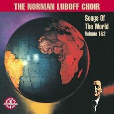 Songs of the World 1 & 2 by Luboff, Norman Choir - CD