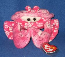 TY SUNBURST the CRAB BEANIE BABY - MINT with MINT TAGS