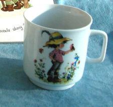 """Vintage 70's Gottschlich """"boy in a garden"""" cup. PMR Bavaria Jaeger & Co. MINT"""