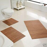 Alfombra de baño antideslizante bambú,baño,Alfombrilla,color: Classic CA 60x100