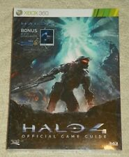 HALO 4 - Prima Official Game Strategy Guide for XBOX 360 - w/ 8x10 Lithograph