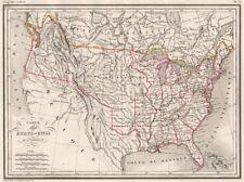 Mexico Texas 1800-1899 Date Range Antique North America Maps ...