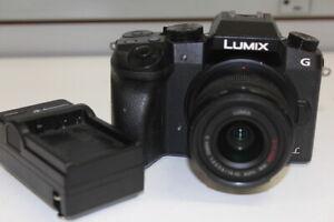 Panasonic Lumix DMC-G7 16MP Mirrorless Digital Camera w/ 14-42mm ASPH Lens