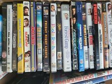 100 Random Movies With Cases Lots/Wholesale
