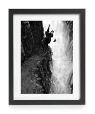 Sherlock Holmes And Moriarty Reichenbach Falls Strand 1893 Reprint A4 Art Poster
