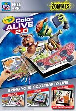 Crayola Colour Alive 2.0 (Color Alive 2.0) - Zombies