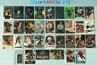 1991+ MARIO LEMIEUX Insert-SP Lot x 33 | Legend /299 Holo FX Penguins HOF Batch