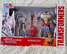 TransFormers Movie Silver Knight Optimus Prime G1 Grimlock Target Ex TF5 Lot TLK