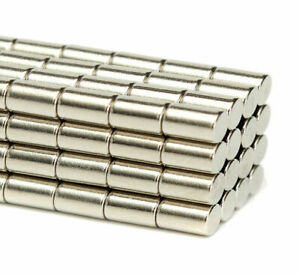 Magnets 5x10 mm N50 High Quality Neodymium Rods strong neo magnet 5mm dia x 10mm