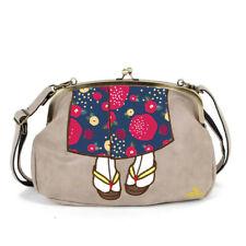 mis zapatos 3-way shoulder bag with kawaii Kimono design from Japan (Beige)