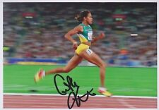 CATHY FREEMAN Olympia 13x18 signiert IN PERSON Autogramm signed RAR