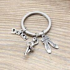 key ring dancing charms keychain jewelry