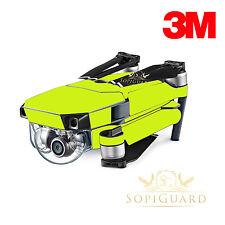 SopiGuard 3M Neon Yellow Skin Wrap Battery Controller for DJI Mavic Pro
