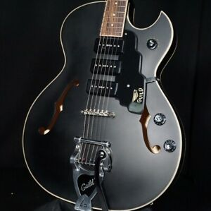 Guild Starfire I Jet 90 Guitar Semi Hollow Satin Black
