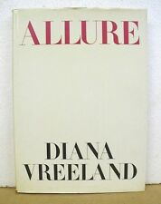 Allure by Diana Vreeland with Christopher Hemphill 1980 HB/DJ First Edition