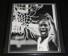Michael Jordan 1982 NCAA Championship Cutting Net Framed 12x12 Poster Photo UNC