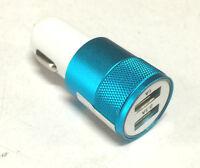 12V Dual USB Power Adapter Outlet Car Cigarette Lighter Socket Splitter Charger